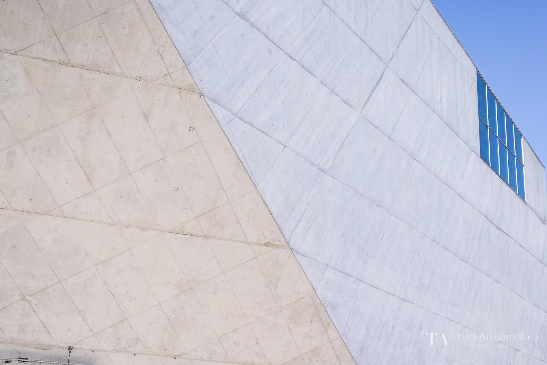 A view of Casa da Musica.