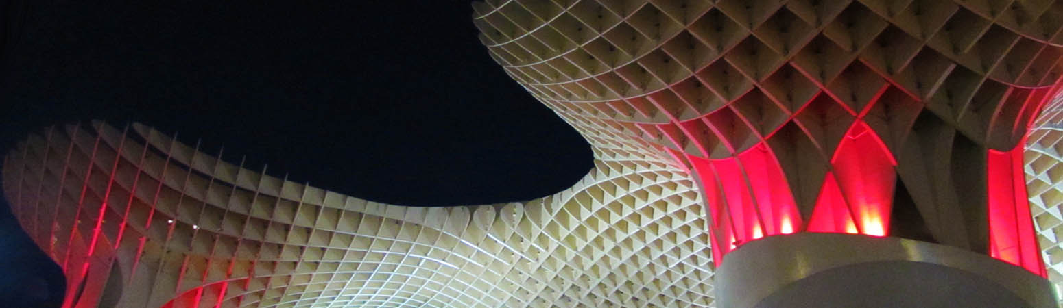 Metropol Parasol, Setas, Mushrooms, in Seville, Spain / Sevilla, España