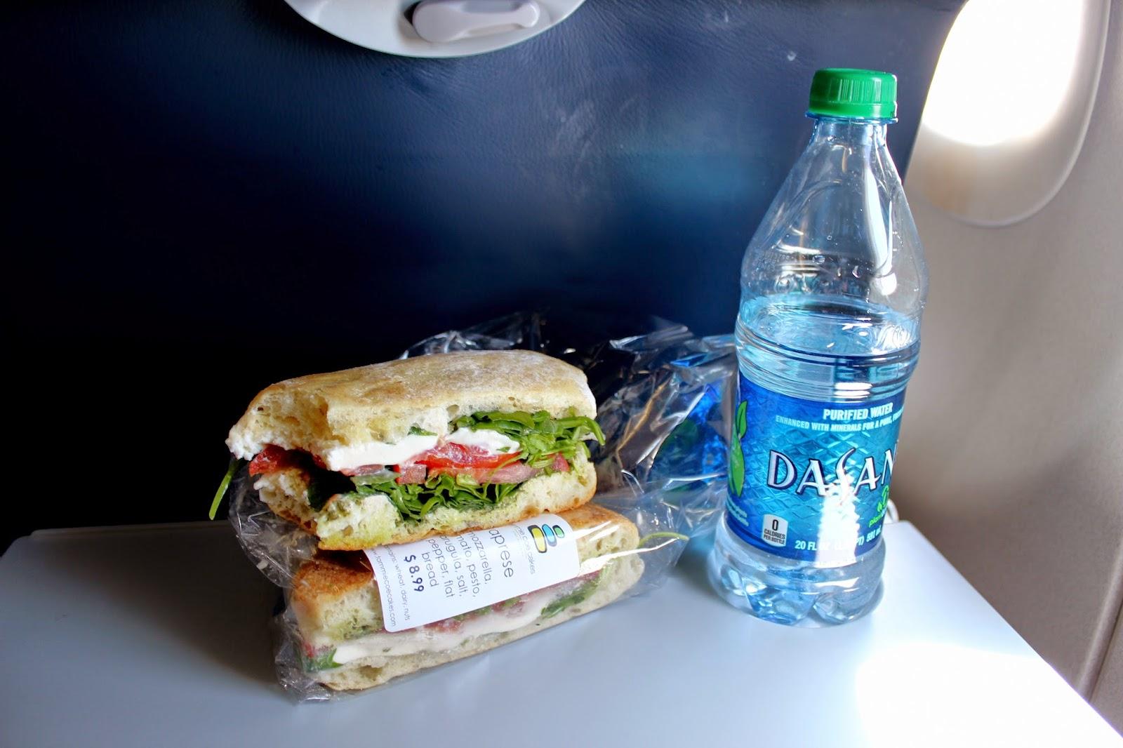 Super expensive Mozzarella Tomatoe Sandwich at the Airport Phoenix, AZ