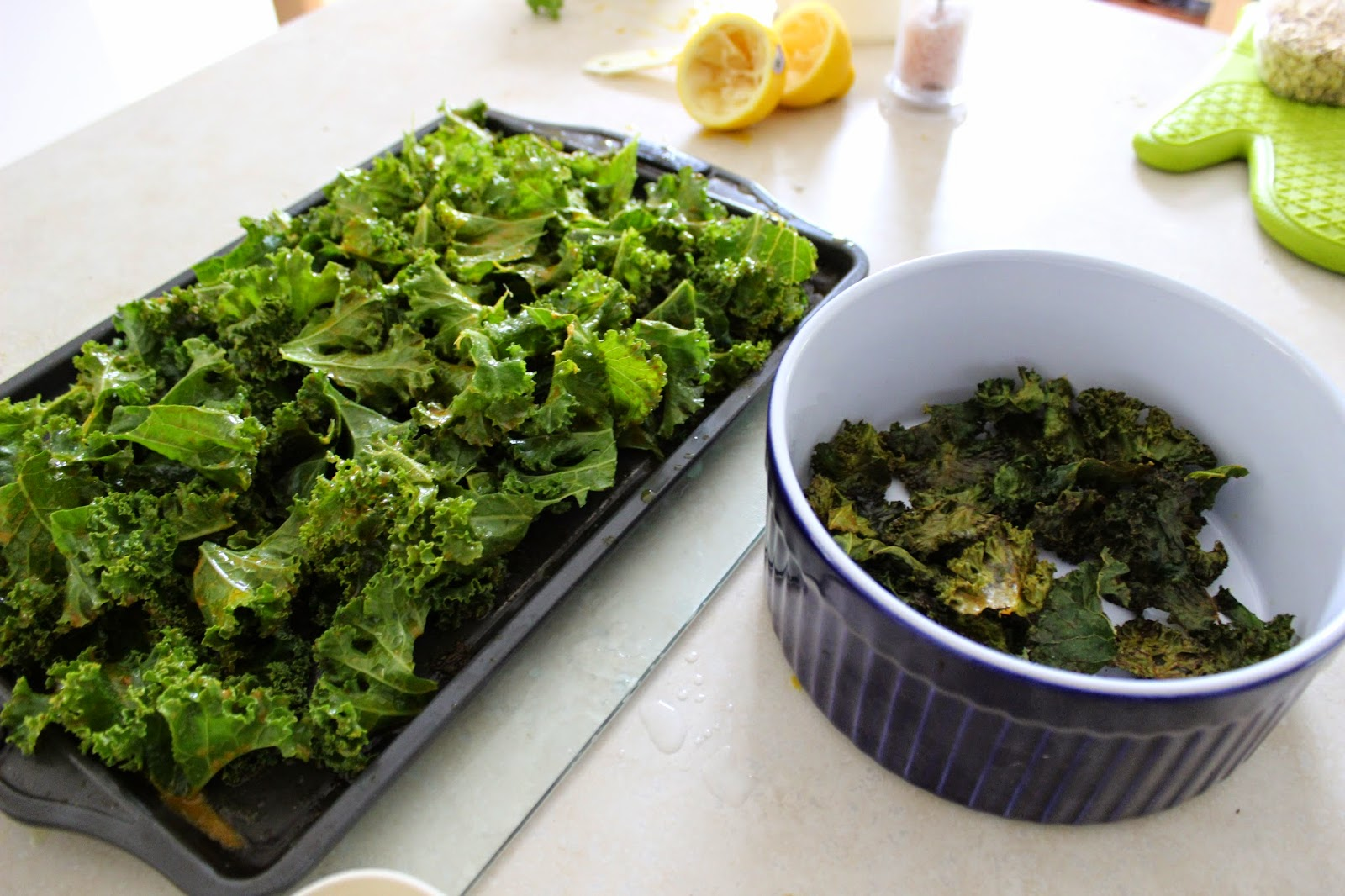 North Vancouver  Homemade Kale Chips, Yummy ♥  Recipe coming soon!