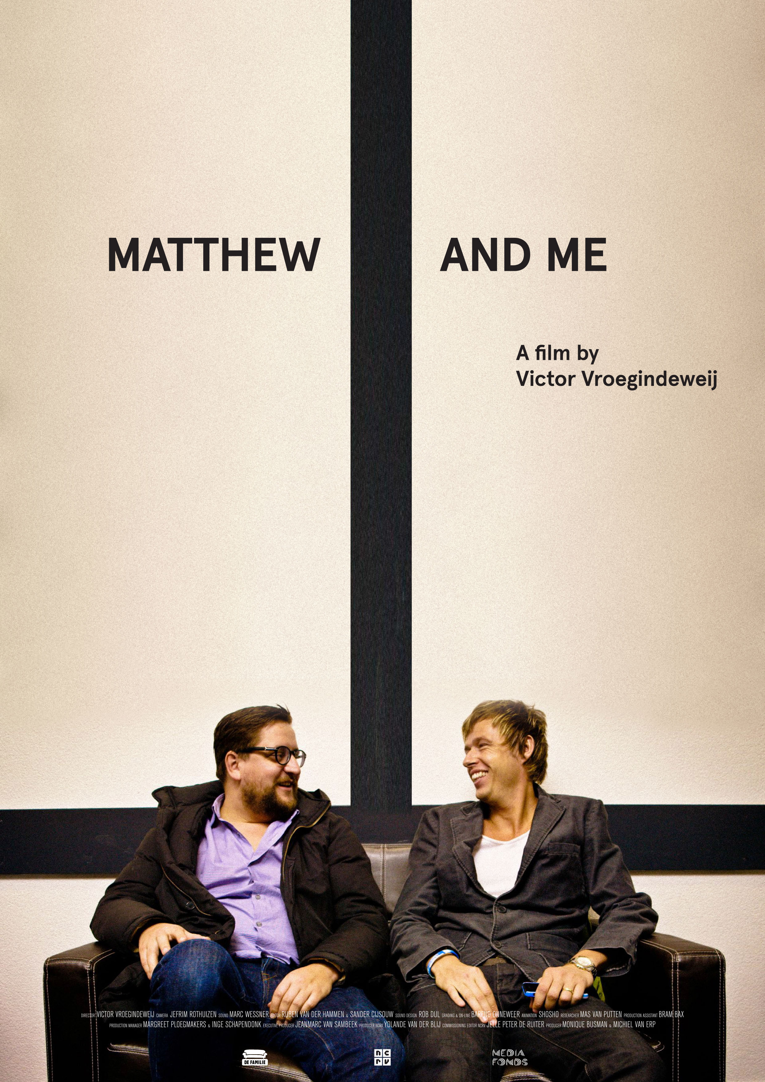 Matthew and me - A couple of years back I was fascinated with pentecostalism,which I consider the future of the Christian faith. So I made this doc about Mattheus, a leader in this world. By the way, I'm a nihilist. I believe in noooothing.