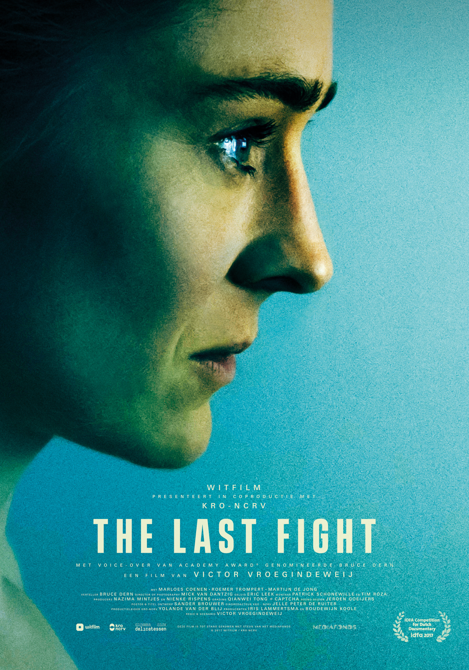 My documentary  The Last Fight , about mma fighter Marloes Coenen, will premiere November 19 at IDFA.  Official Website