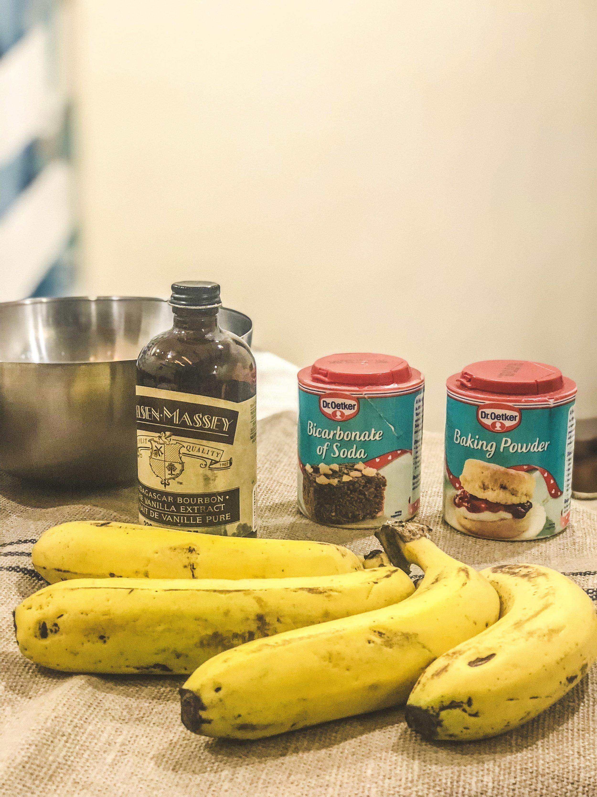 Make sure those bananas are riper than ripe