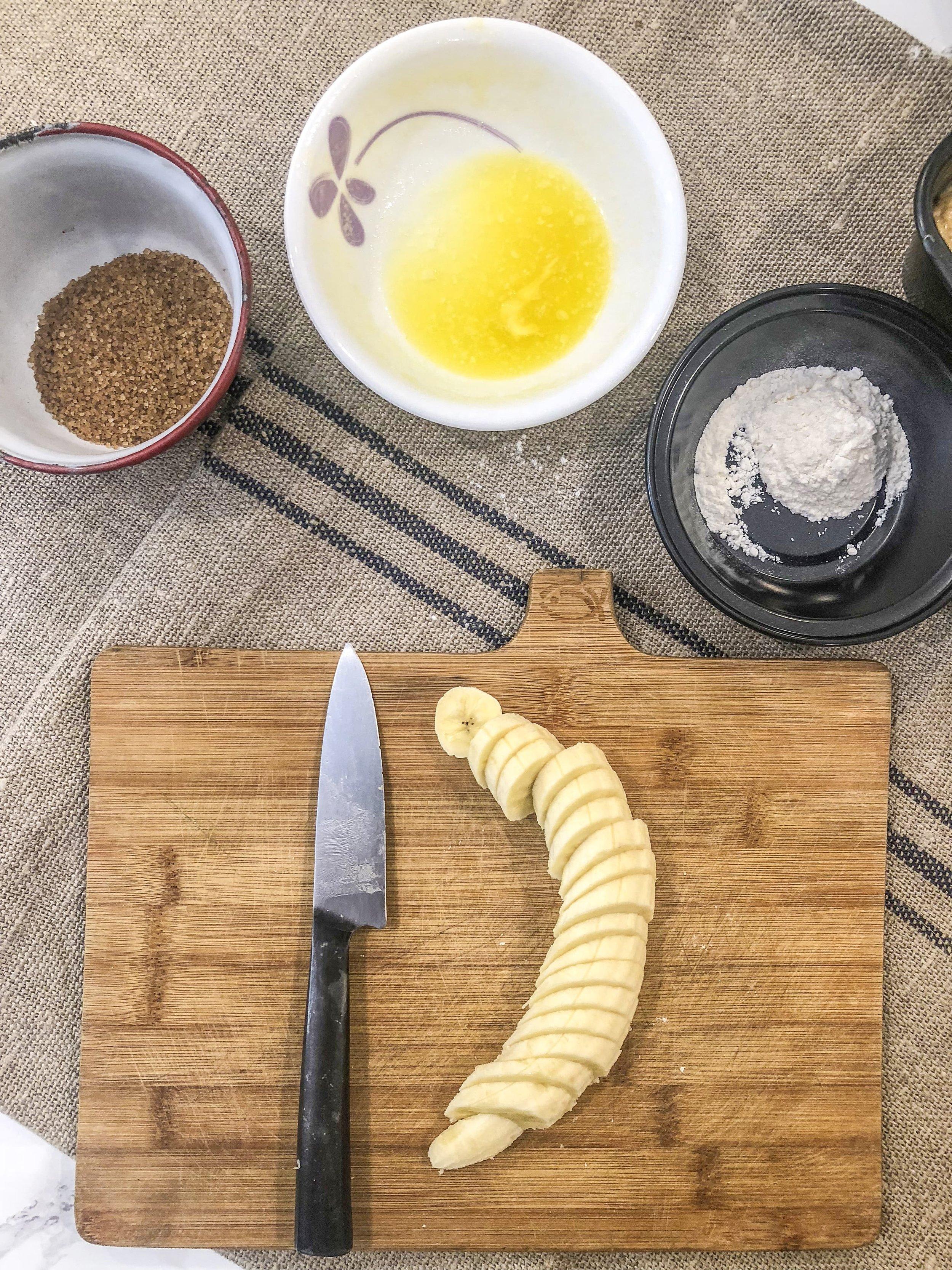 Chop up that extra banana