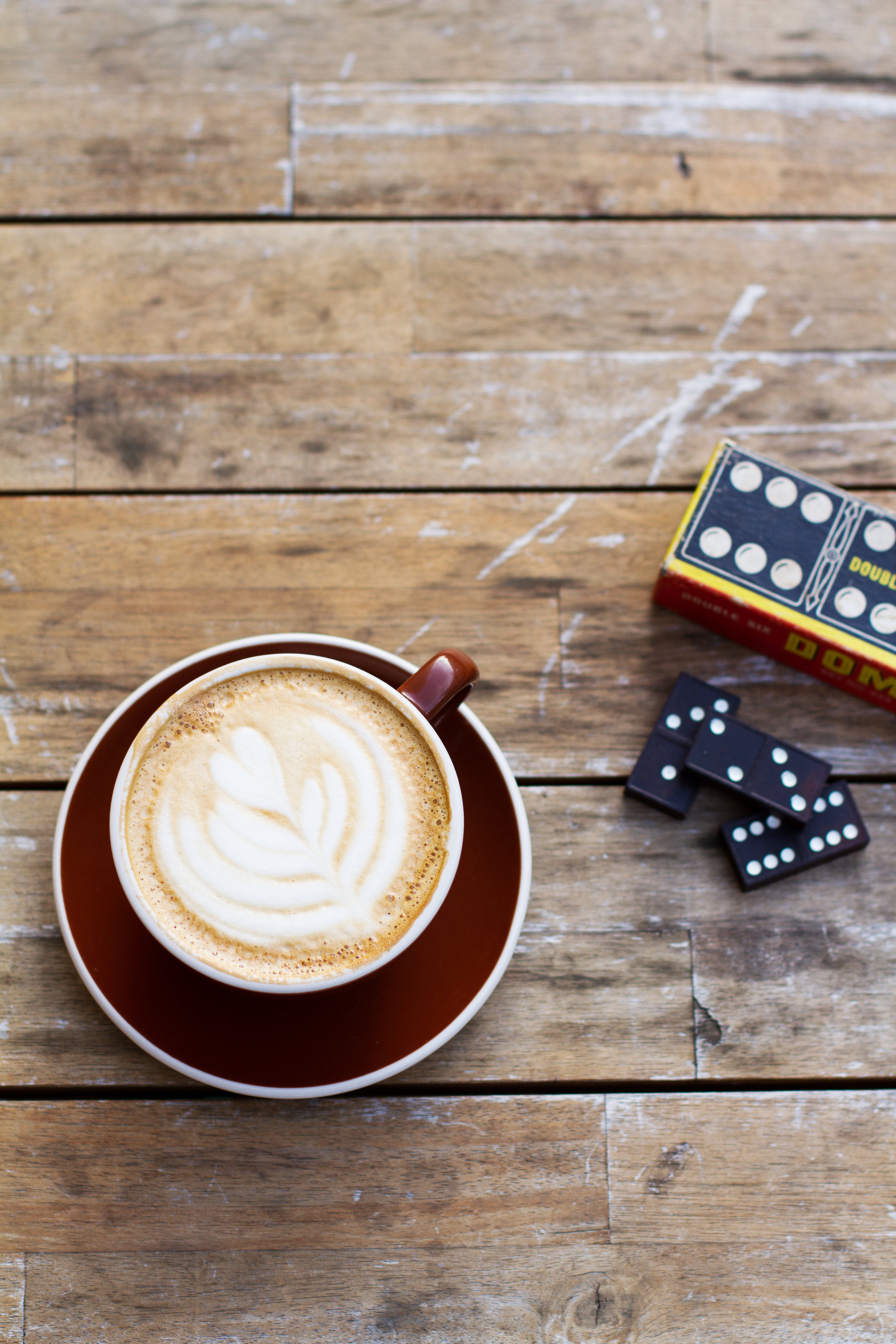 COFFEE + DOMINOS!