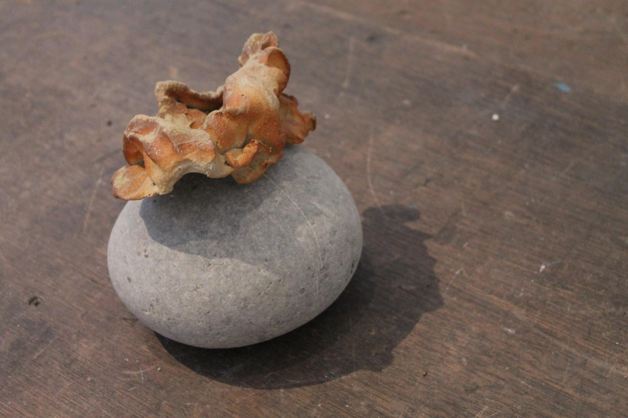 Detail: Anagama ceramic
