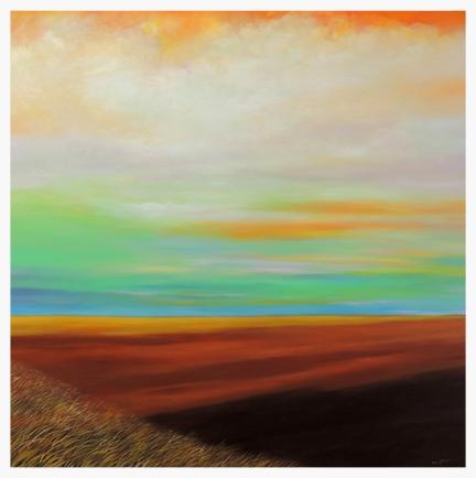 Orange Sky Prairie