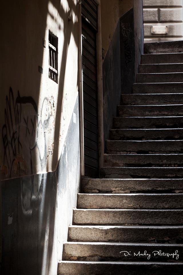 a stairway, lit.jpg
