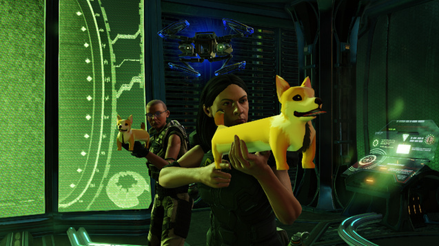 XCOM 2 'S FIRST MOD - tHE cORGIE gUN. mODDERS SO PREOCCUPIED WITH WHETHER OR NOT THEY COULD THAT THEY DIDN'T STOP TO THINK IF THEY SHOULD.