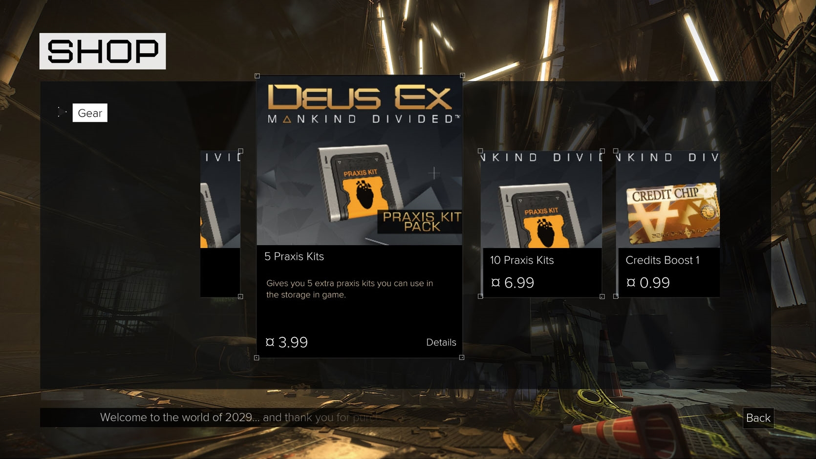 Deus Ex Mankind Divided tried some new ideas... in a premium game... it didn't go down well.