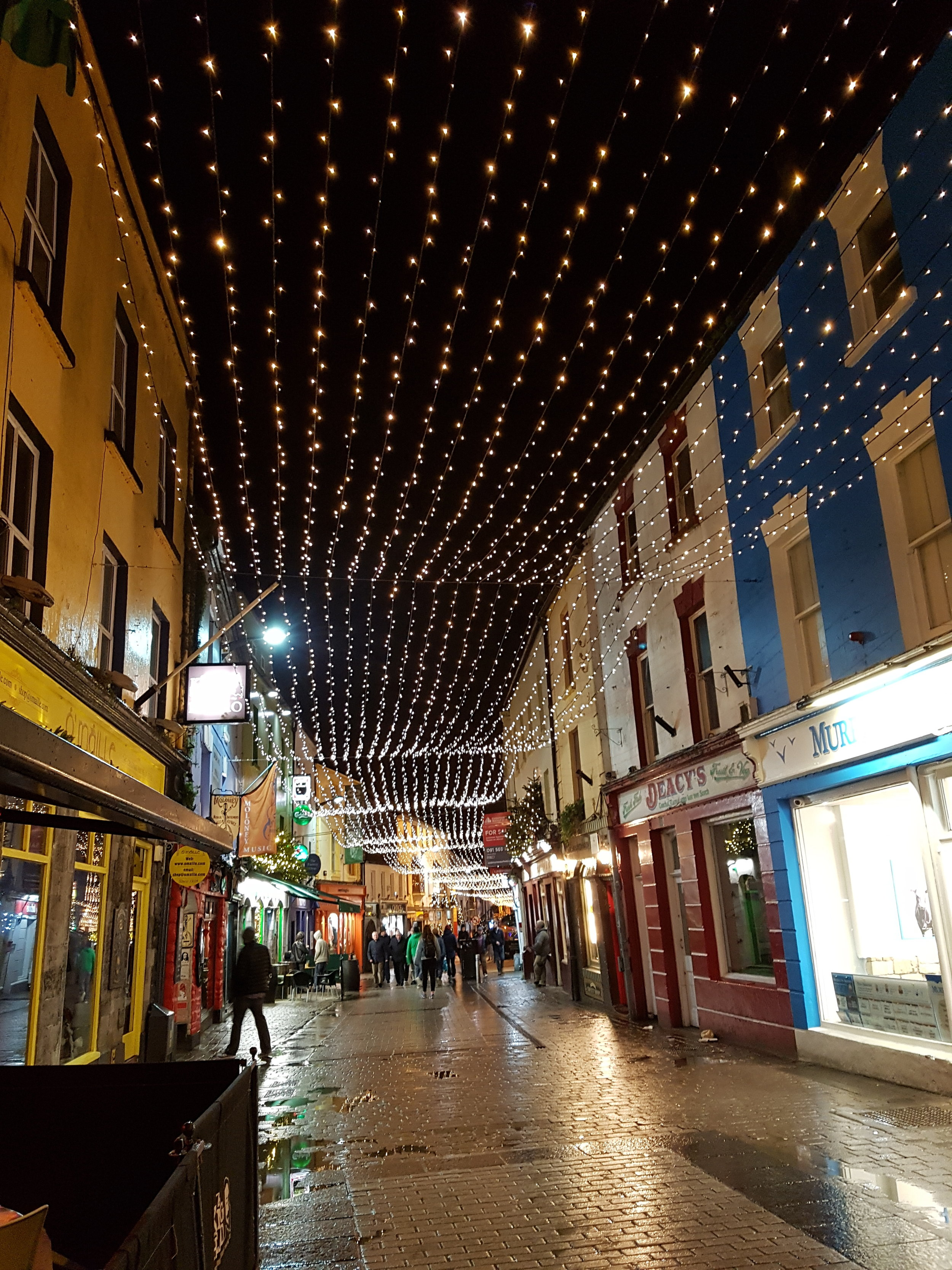 Galway at Christmas.