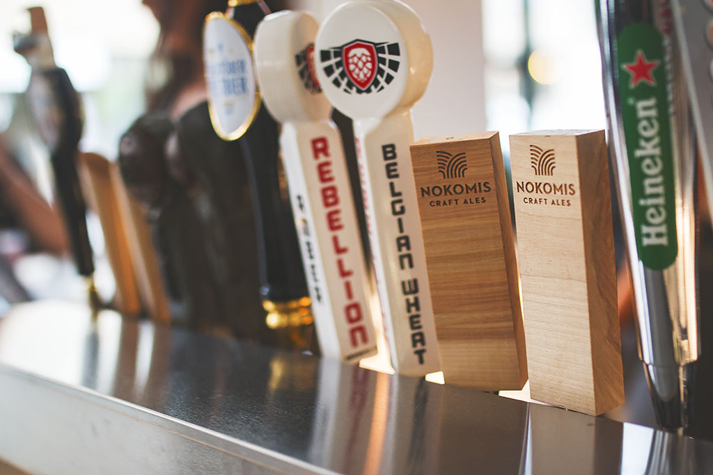 Malt City offers many local options and classic beers on-tap.