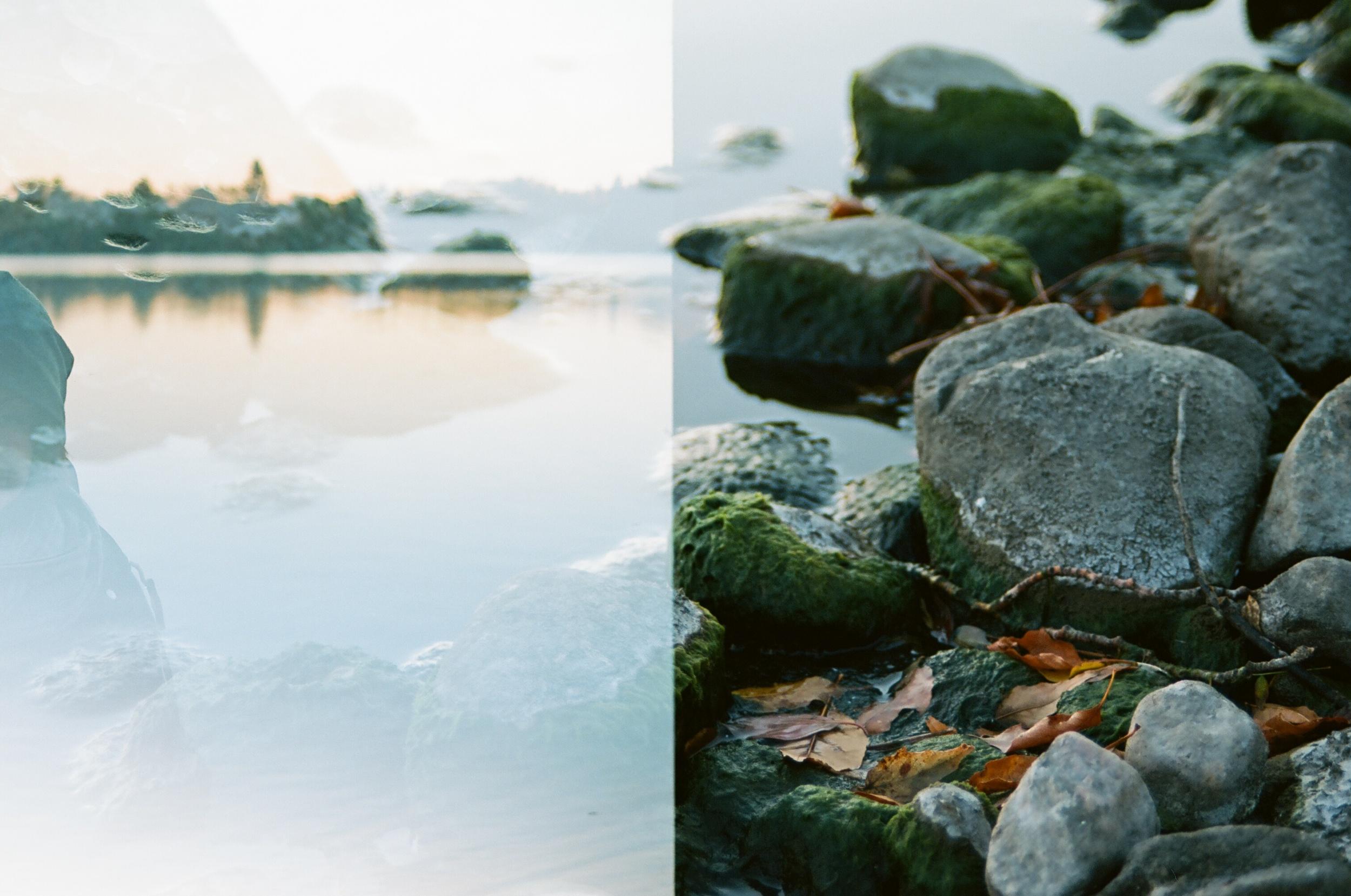 A double-exposure that didn't work as planned. | Pentax K1000 | Kodak Ektar 100