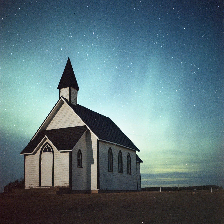 Near Zehner, Saskatchewan | Hasselblad 500CM + 80mm Zeiss Planar f/2.8  Kodak Portra 800 (Pushed to 3200) |80mm @ f/2.8 ISO3200 12s