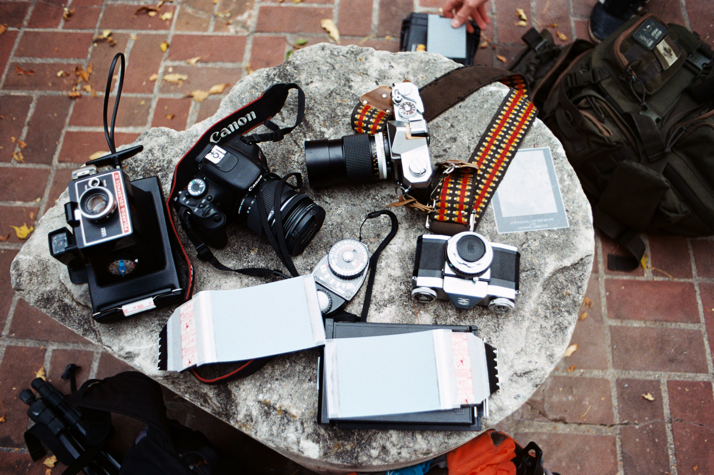 A small pile of cameras   September 2016