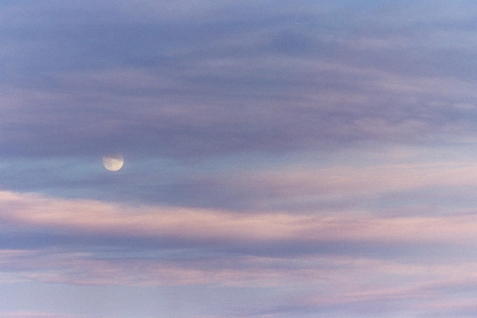Cotton Candy Moonrise