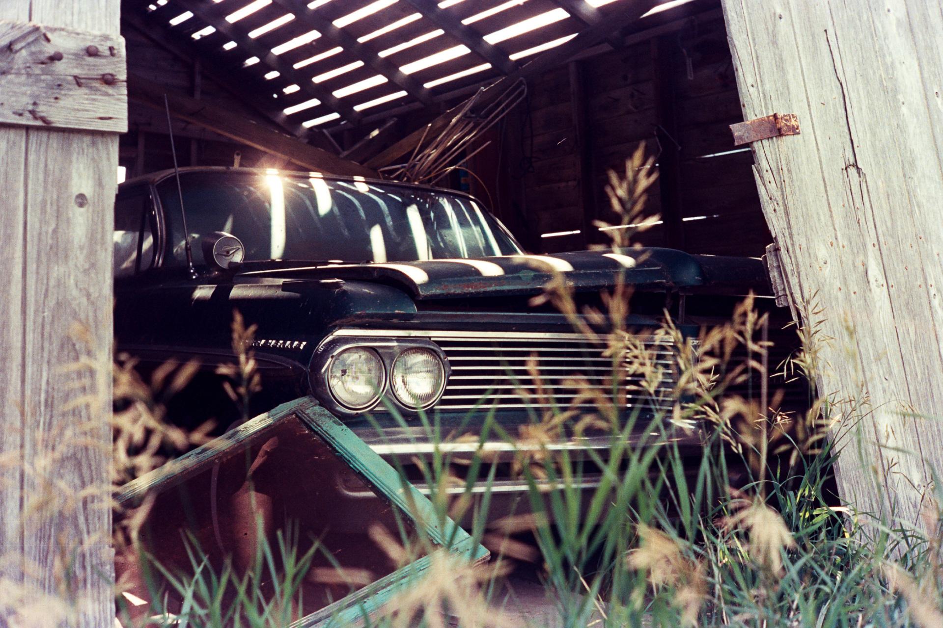 Stabled Pontiac No. 1