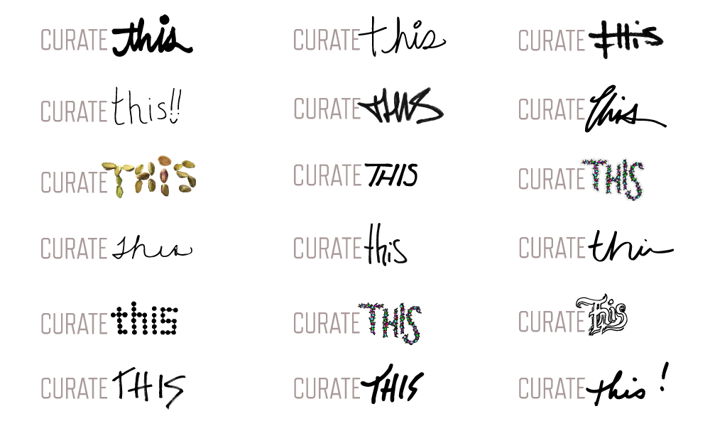Curator-submitted logos (as of April 2016)