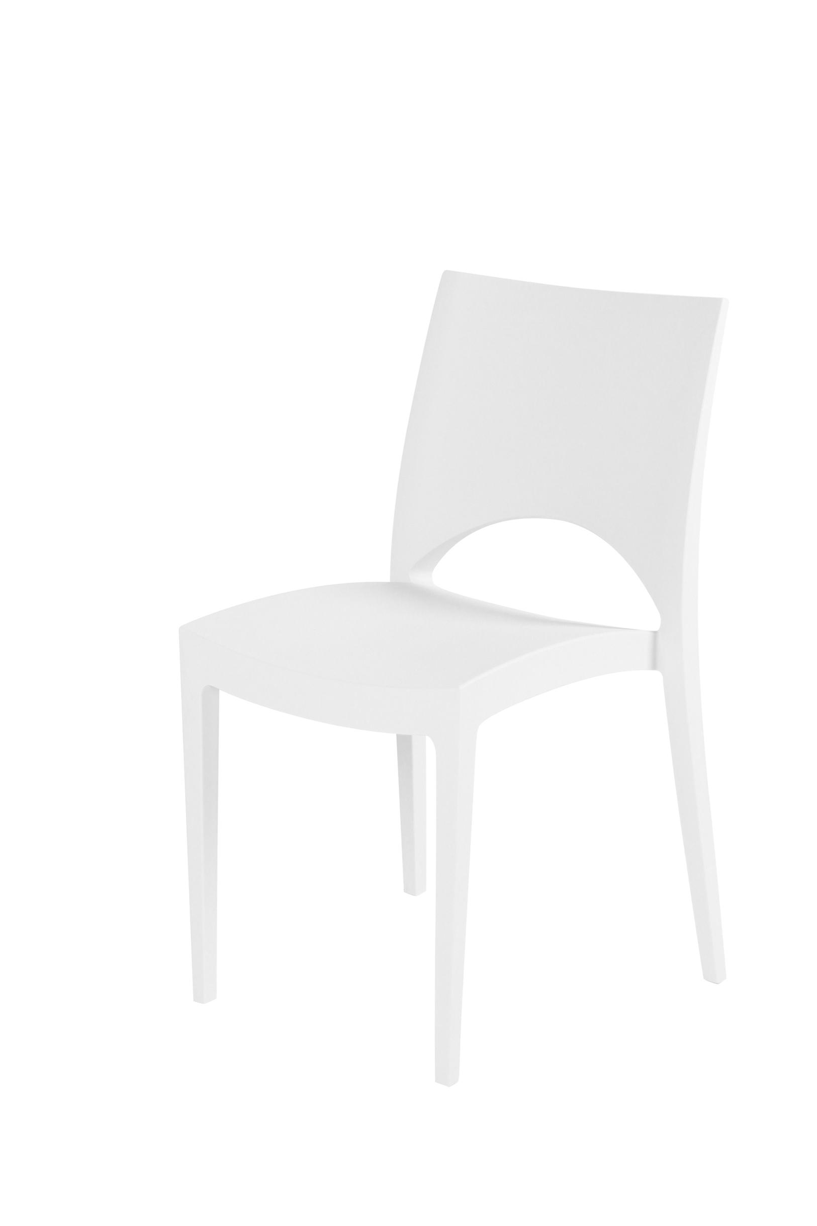 Design stoel wit huren