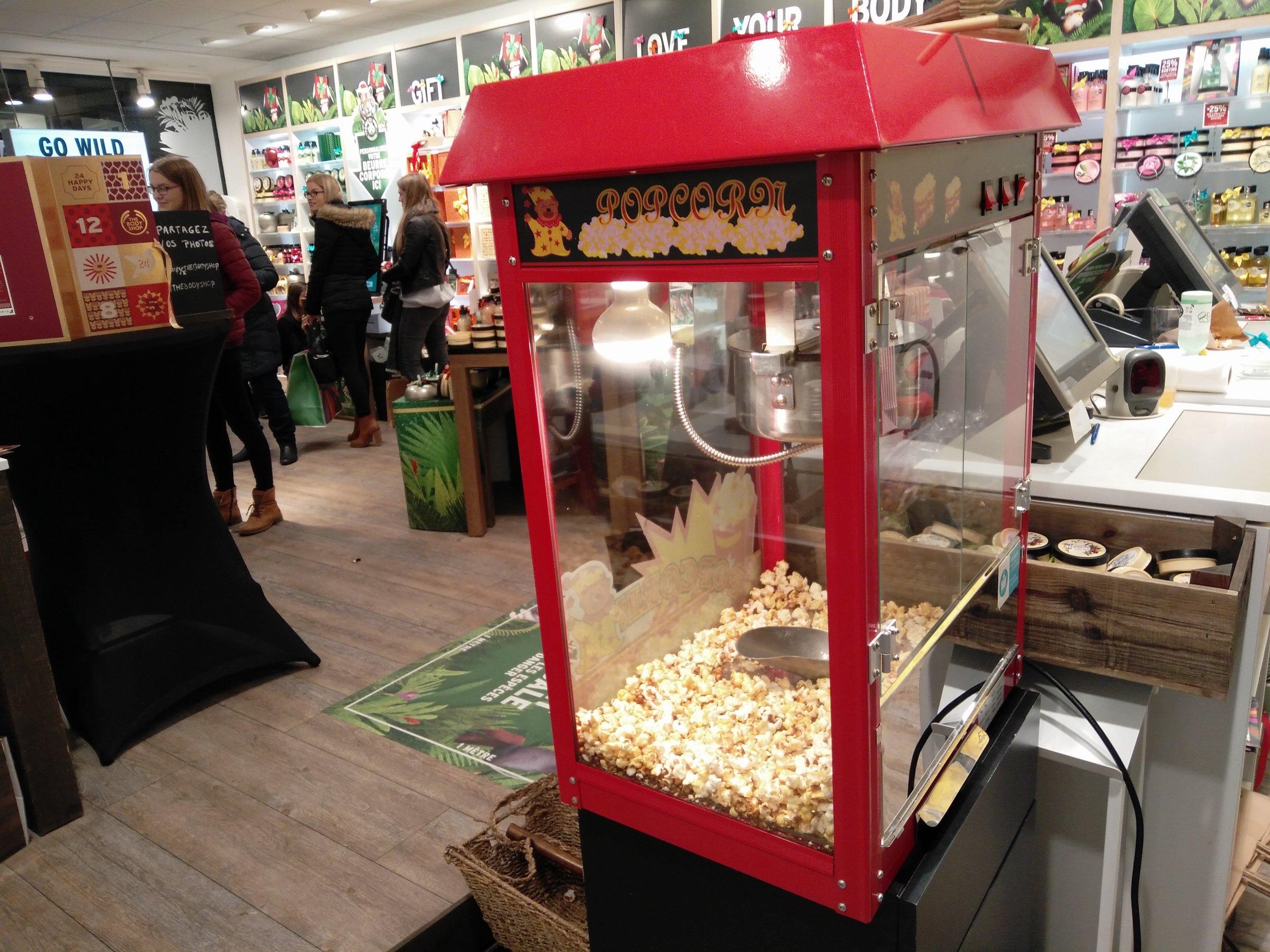 Popcornmachine - 50 euro