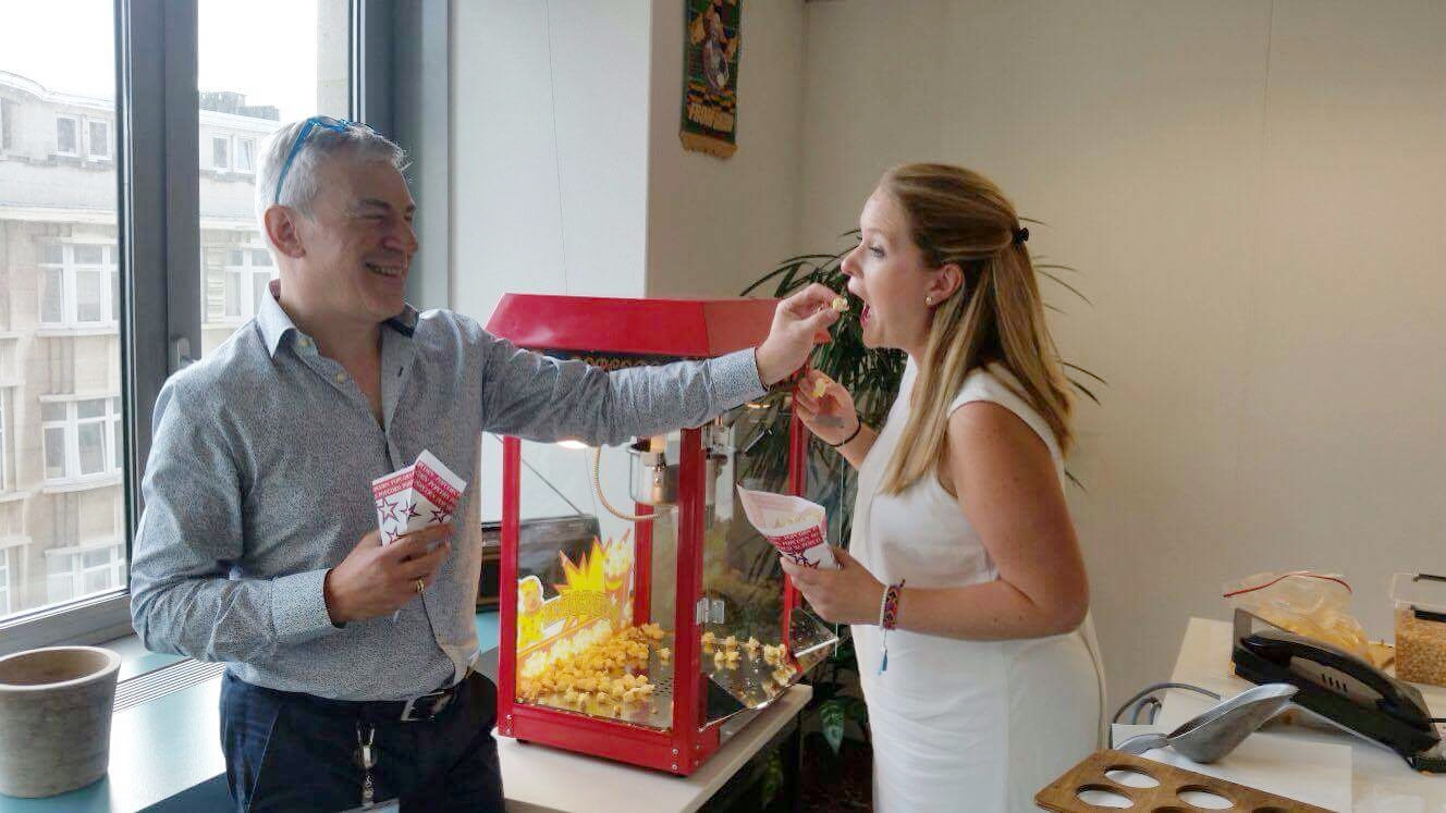 Popcornmachine huren Eventa Rent