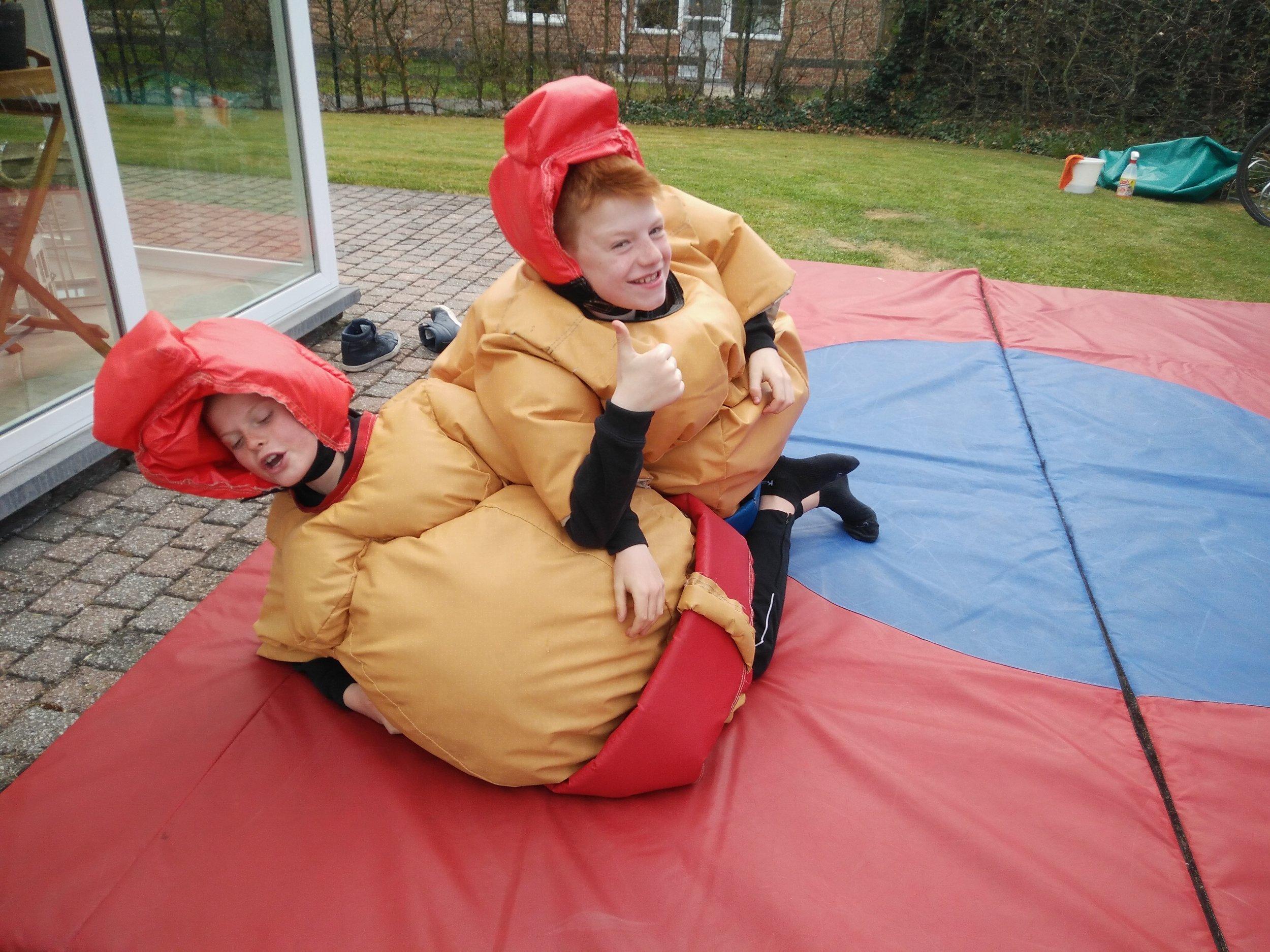 sumopakken kids kinderen huren