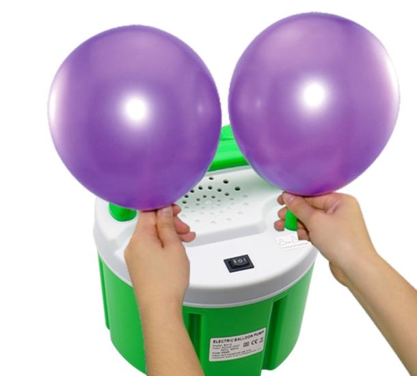 elektrische ballonpomp huren