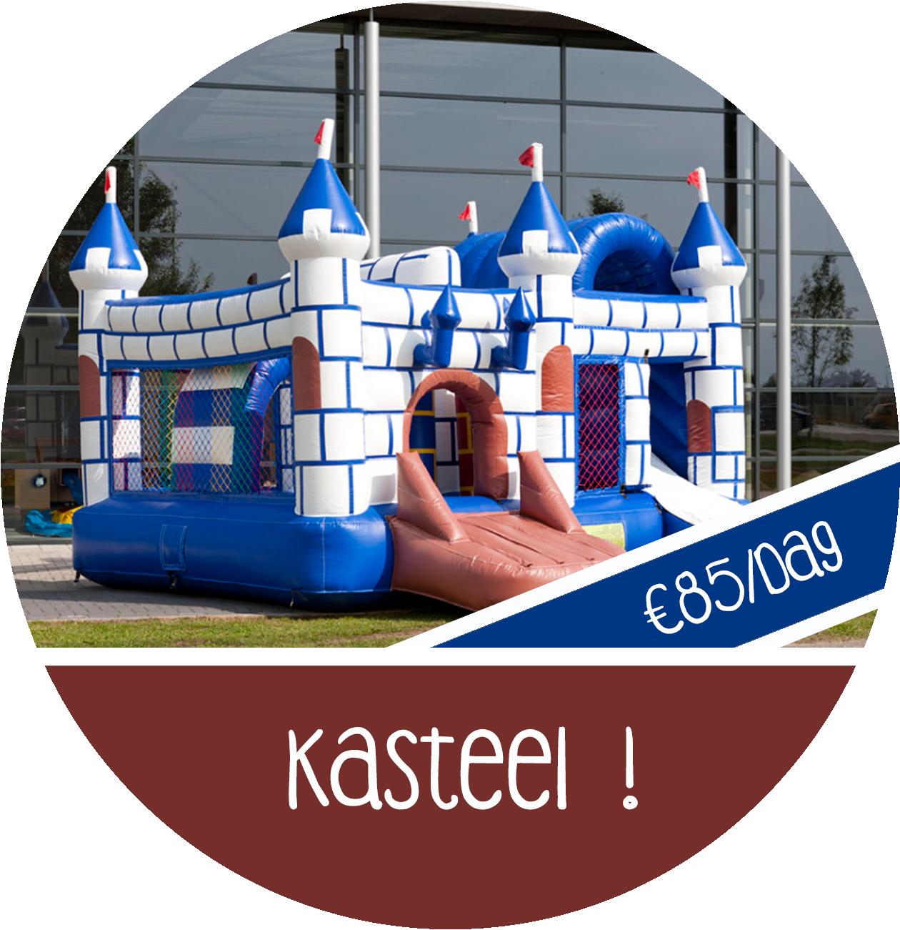 Springkasteel kasteel huren