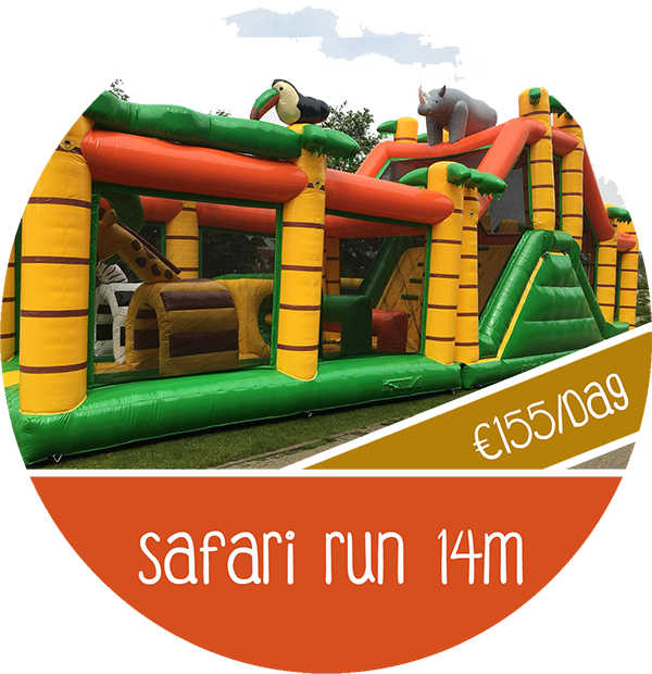 safari run 14m huren