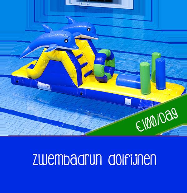 Waterattractie zwembad dolfijn huren goedkoop huren