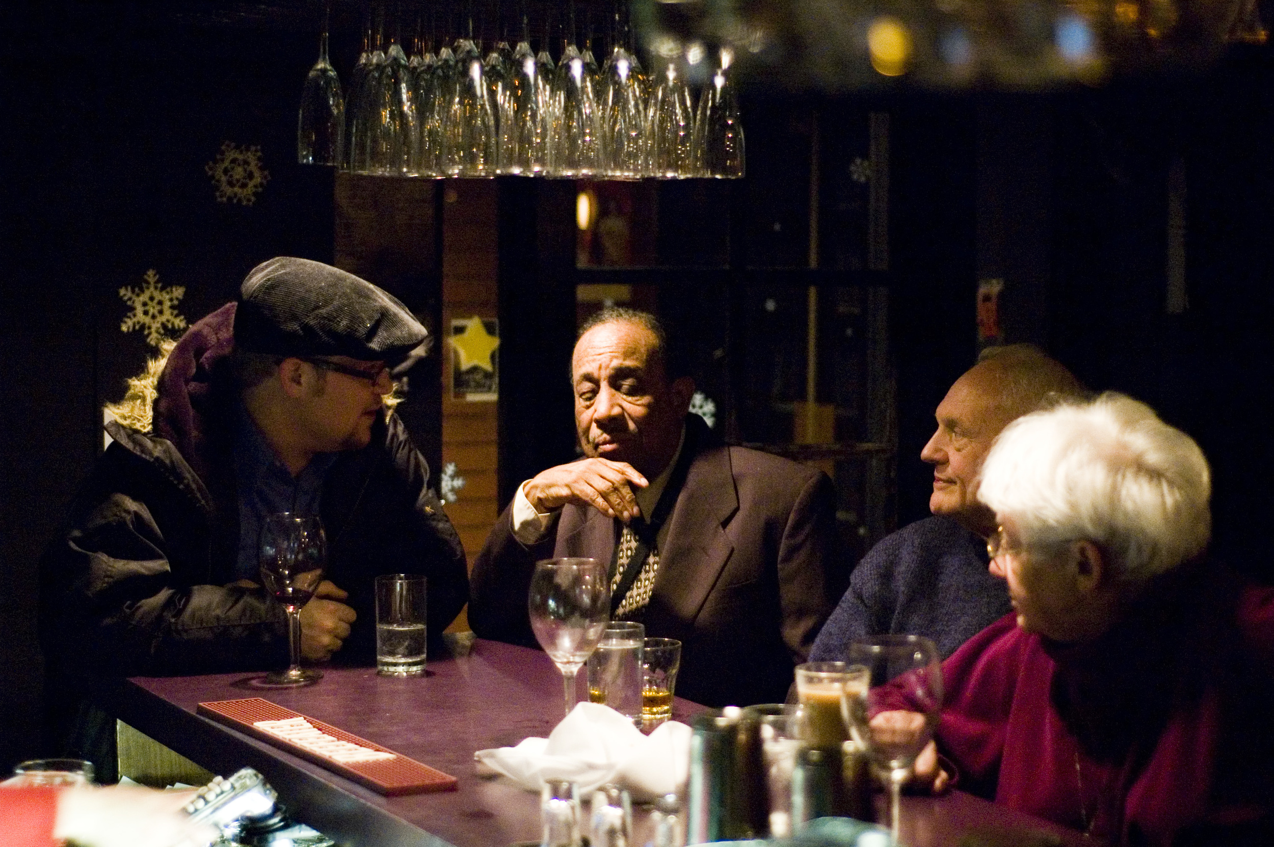 IHS with Lou Donaldson at the Cellar, Vancouver, BC 2007. Photo by  Steve Mynett