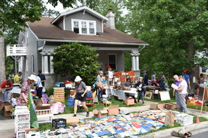 Come to our charity yard sale - All proceeds go to Edu-GIRLS - Run ENTIRELY by kids