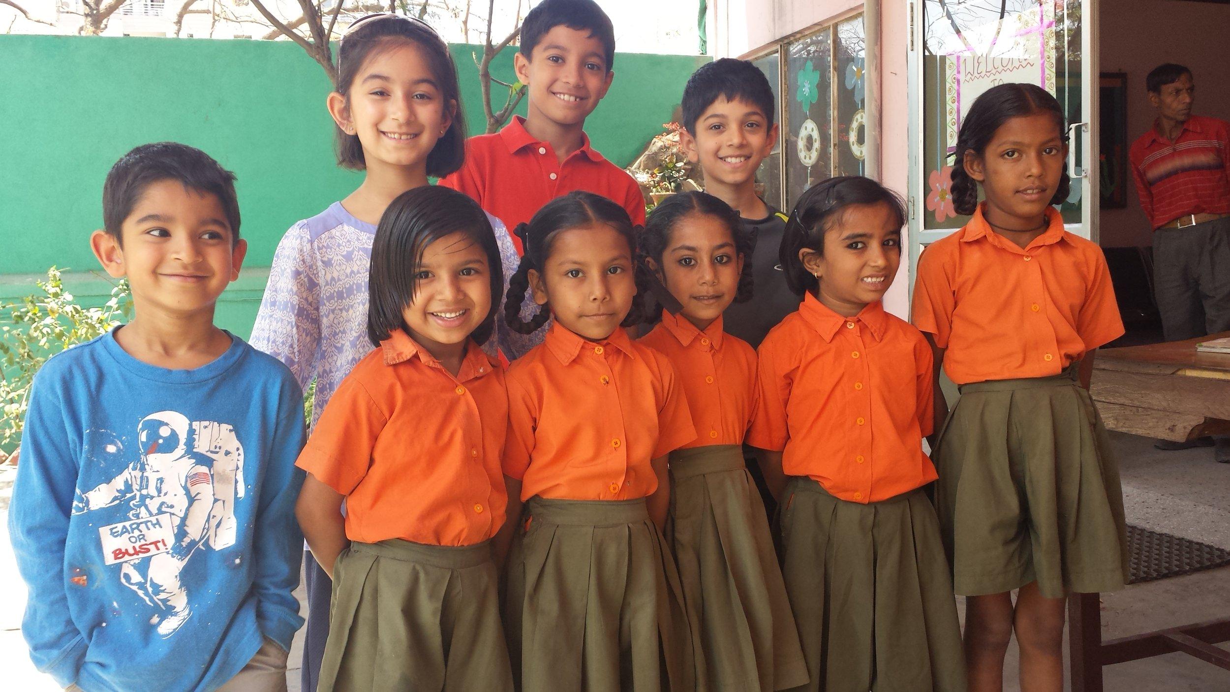 Sachin, Sahana, Naveen Parikh and Aryaman Uberoi visit Vimukti
