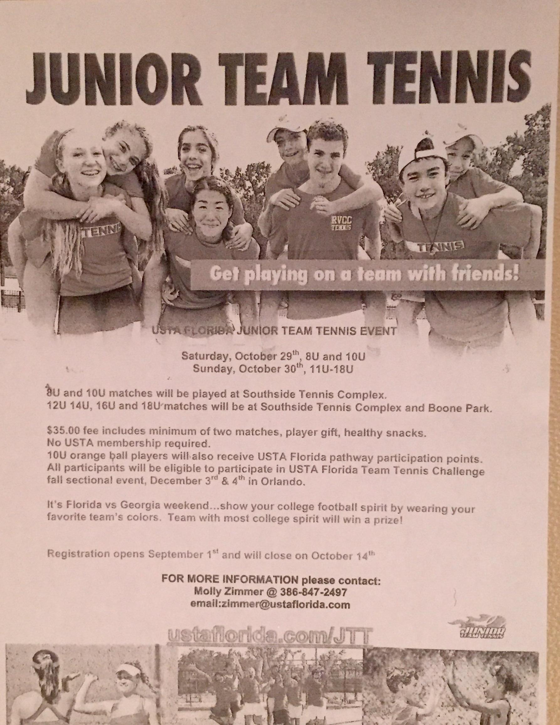 USTA Junior Team Tennis