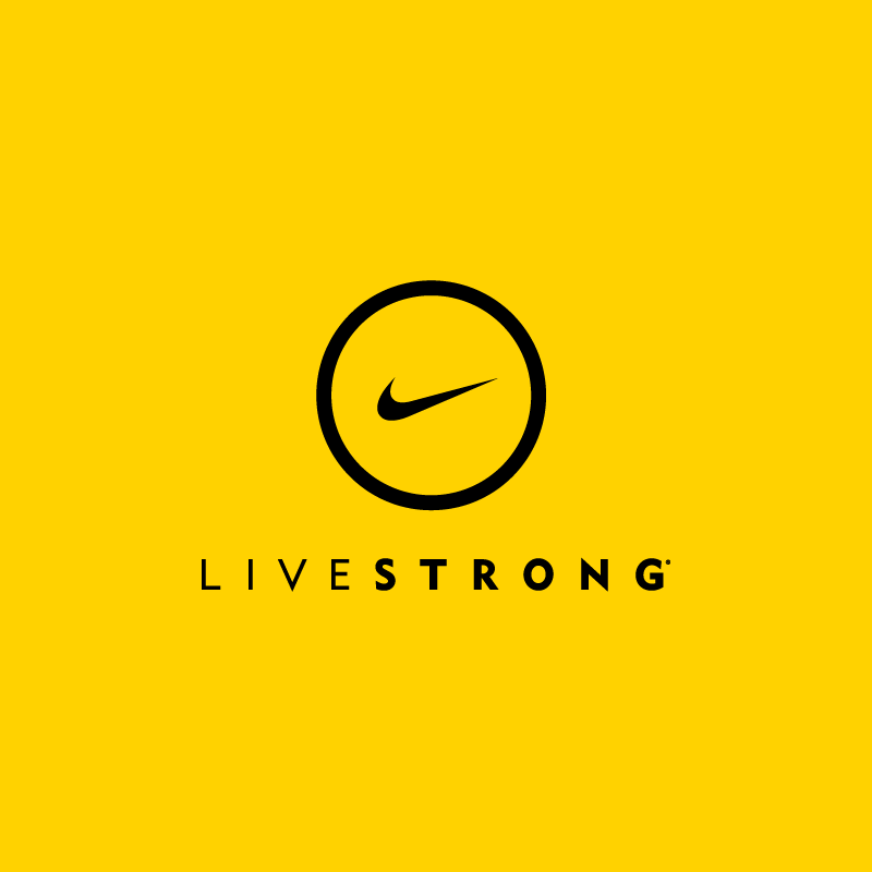 Nike LiveStrong Product partnership / 2011  Created at Nike, Inc. w/ Bibliothèque