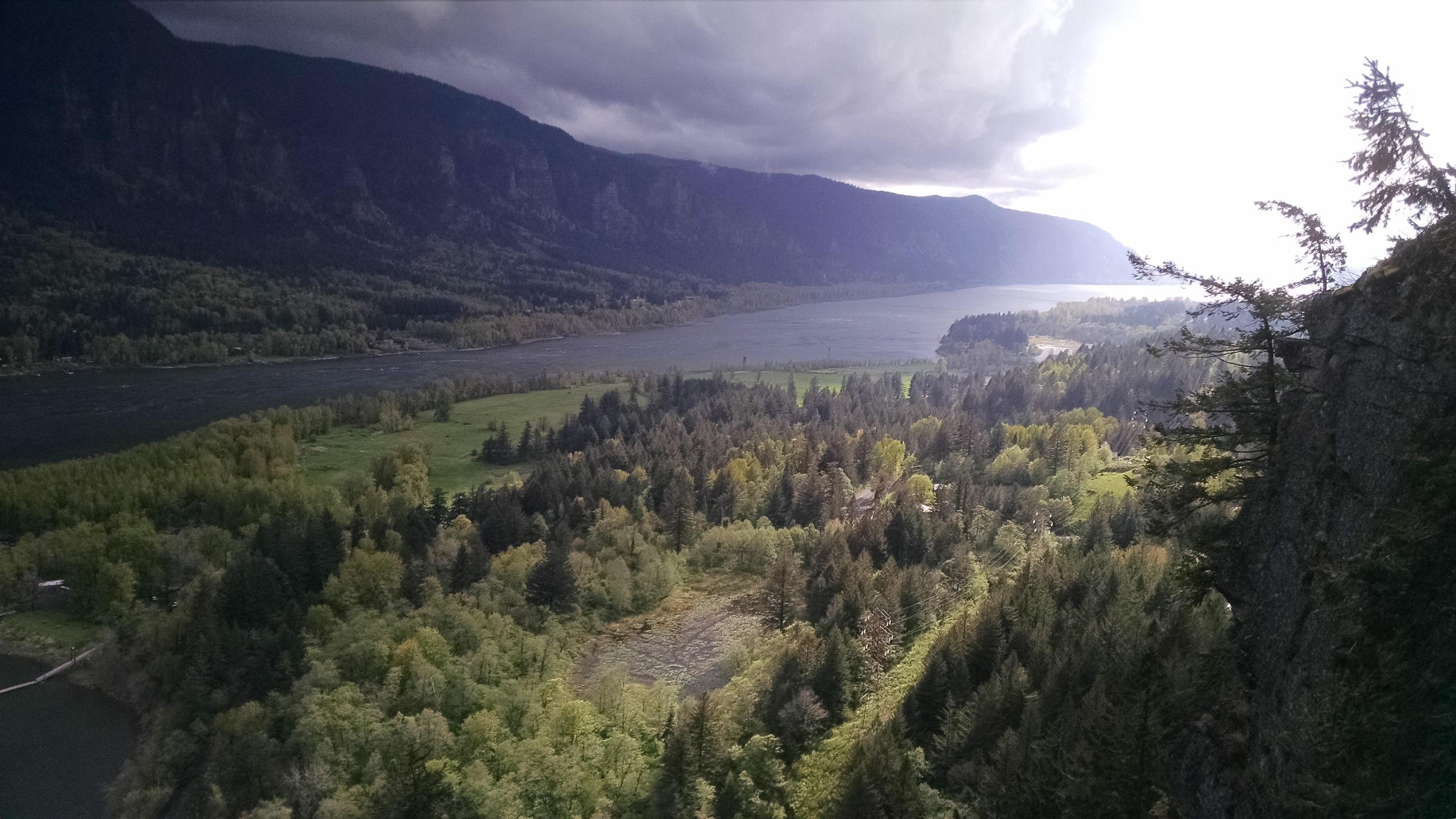 More views -- looking West