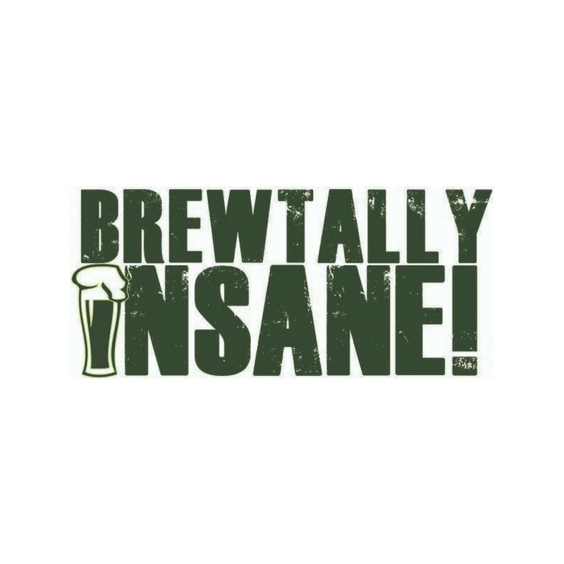 Brewtally Insane Logo