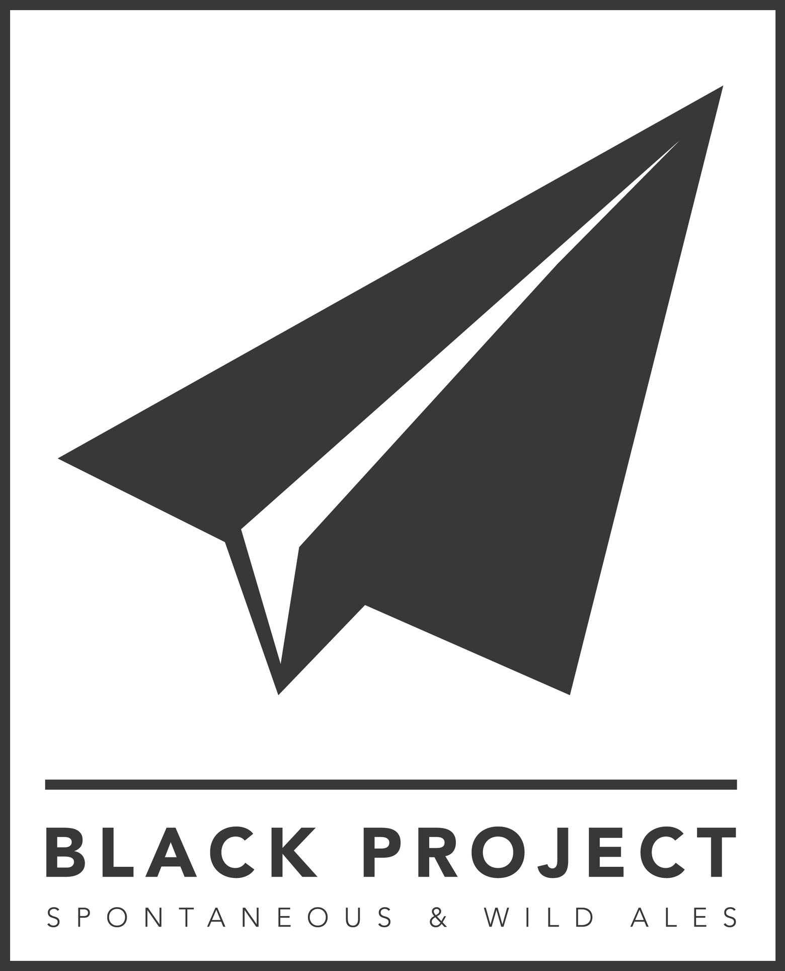 Black Project Spontaneous & Wild Ales Logo