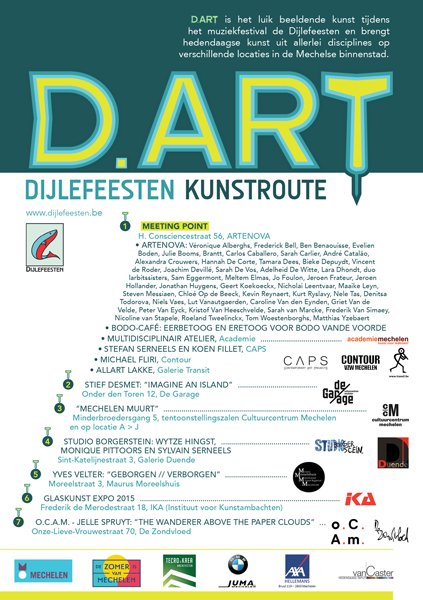 D.ART Mechelen Dijlefeesten kunstroute Hannah De Corte