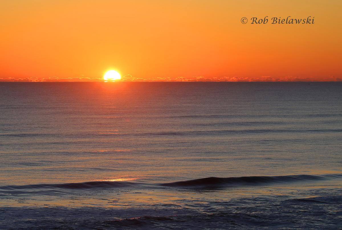 Valentine's Day sunrise from the Comfort Inn - Nags Head, North Carolina!