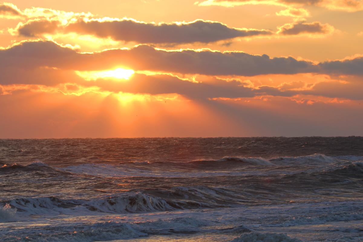 Final Sunrise of 2017! / 31 Dec / Back Bay NWR