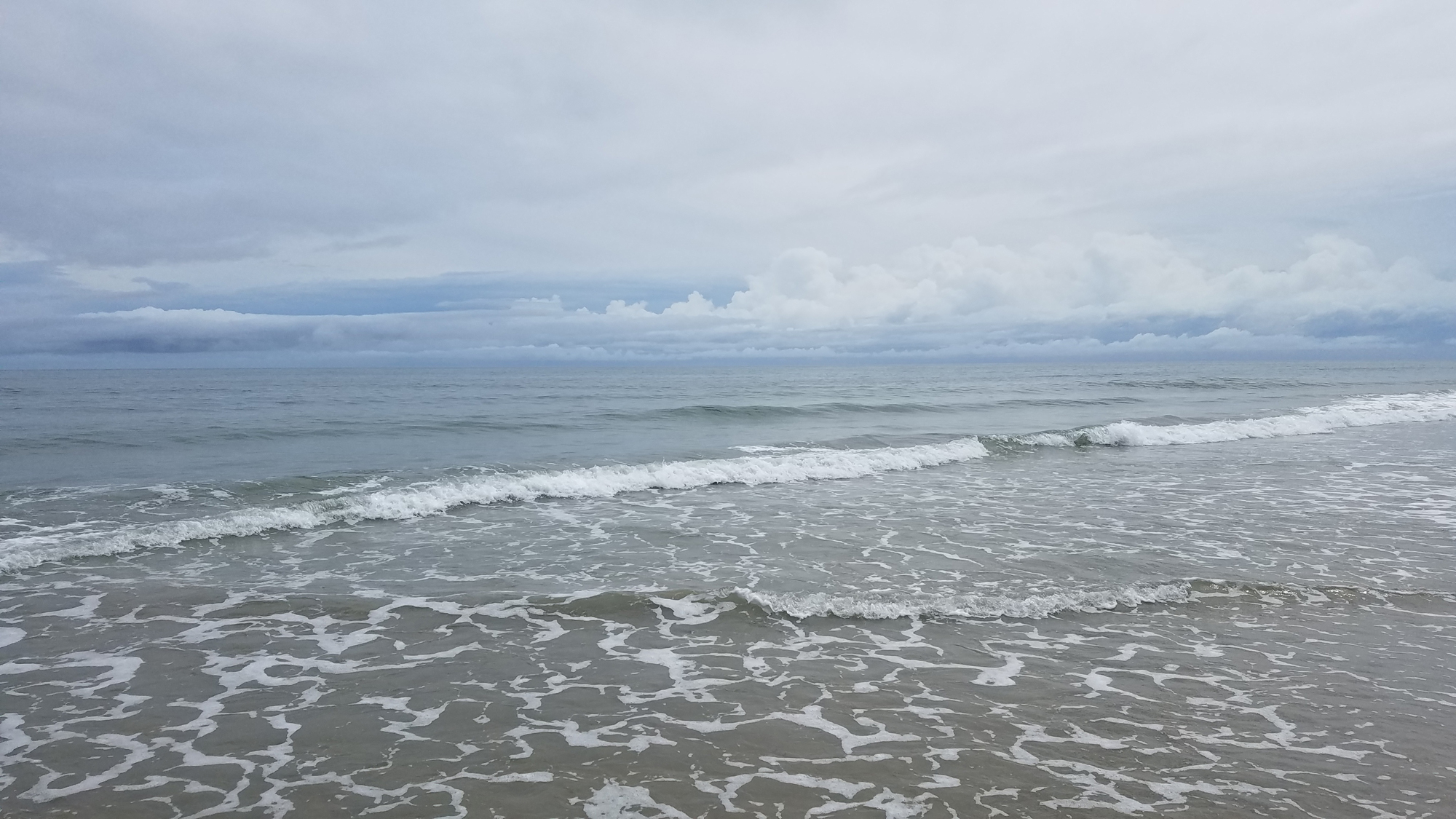 Ocean & backside of low pressure system / 18 Aug / Back Bay NWR