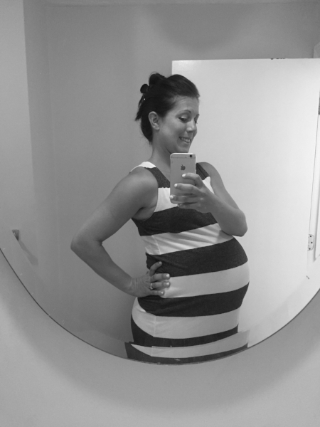 Two days away from my due date!
