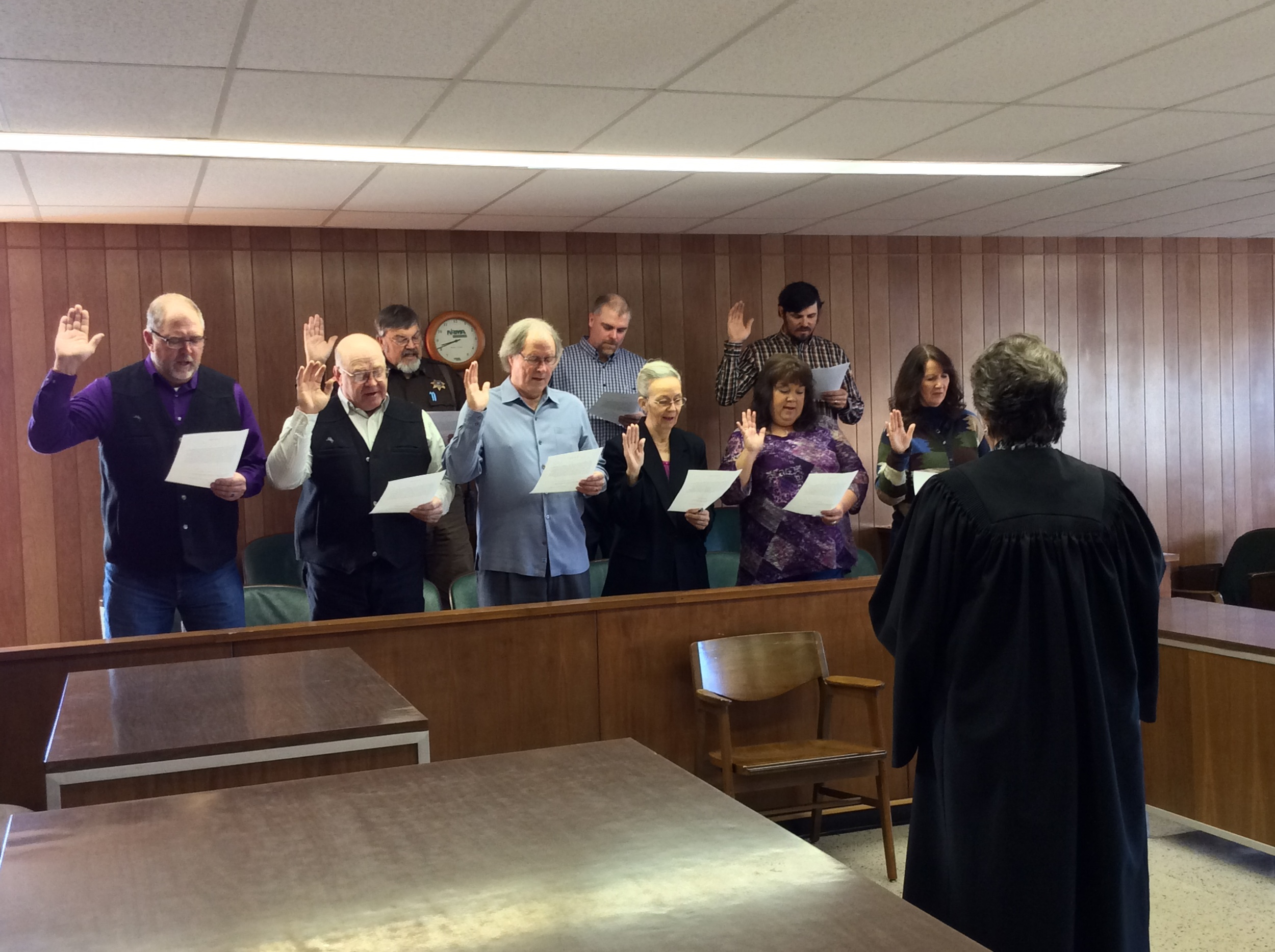 """Swearing In"" Ceremony - January 8, 2015"