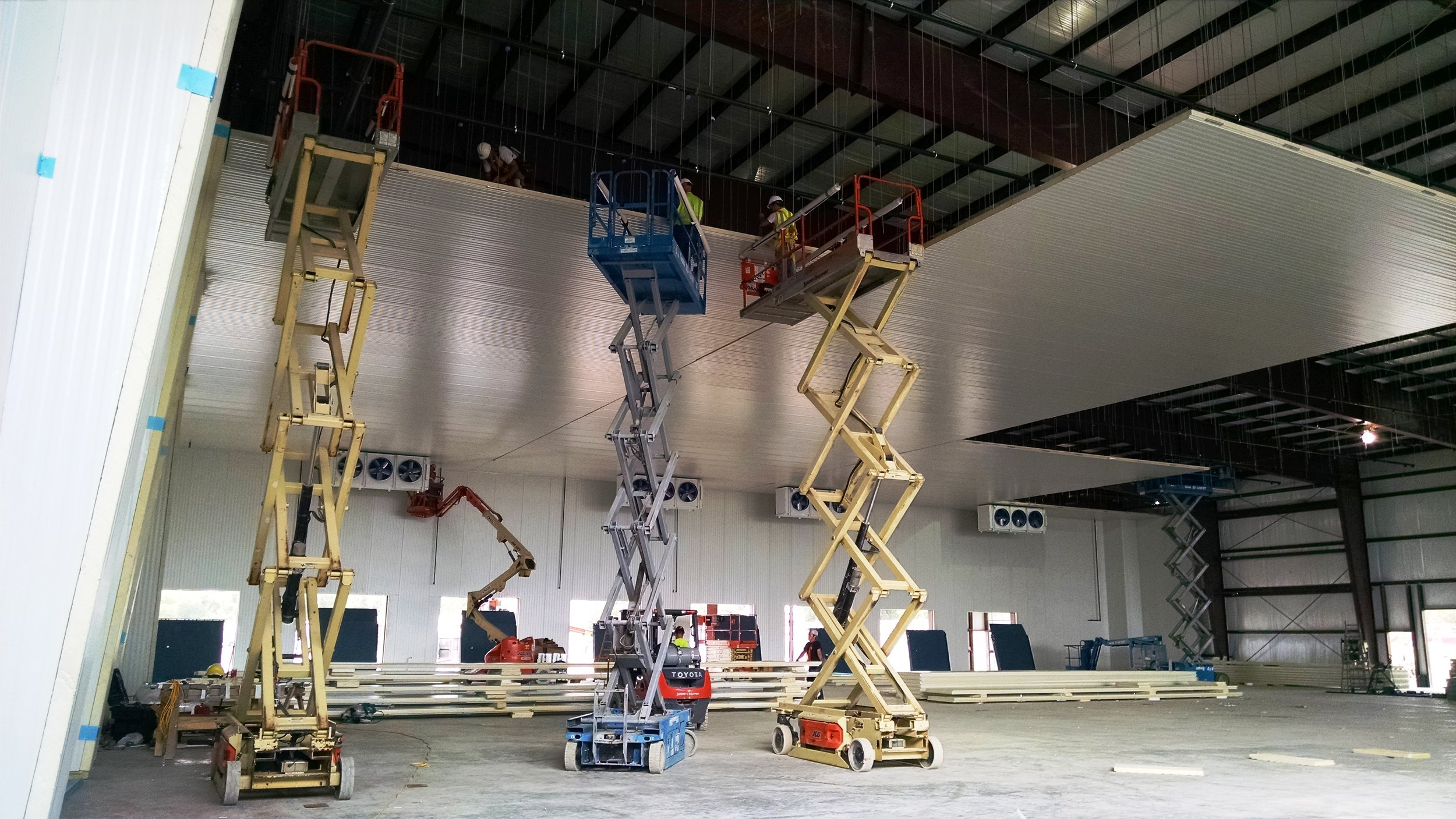 Cold Storage Construction — Texo Industrial