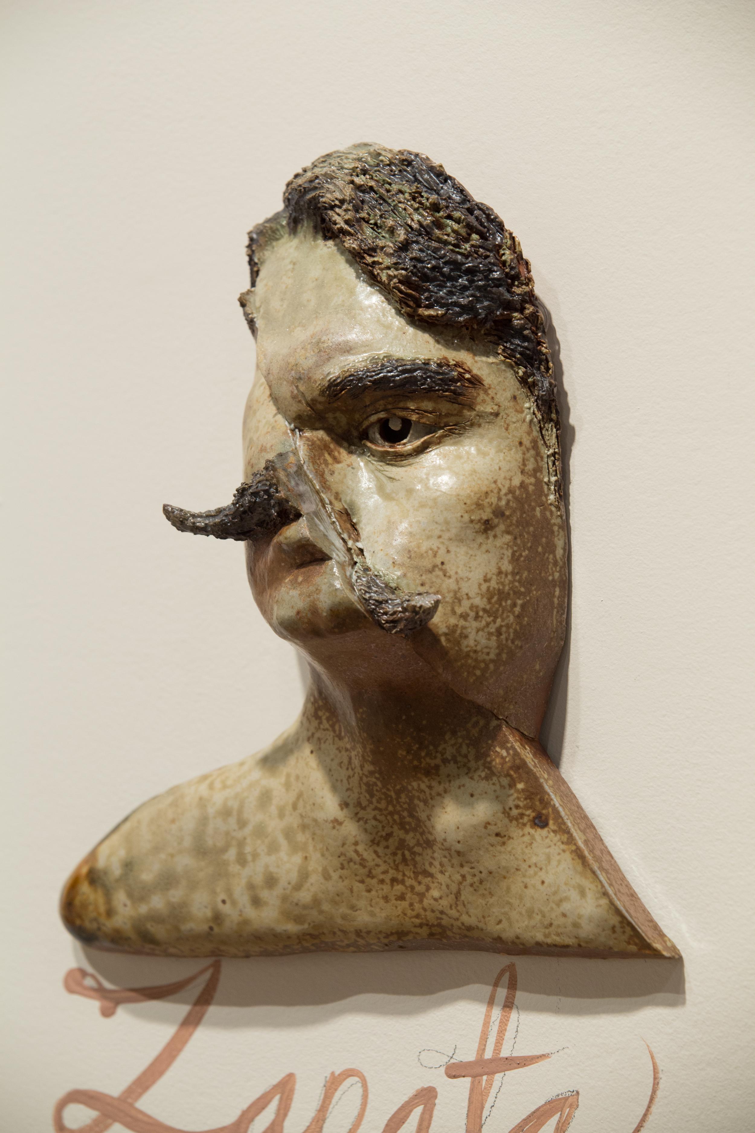 Zapata Disfigured/Zapata desfigurado