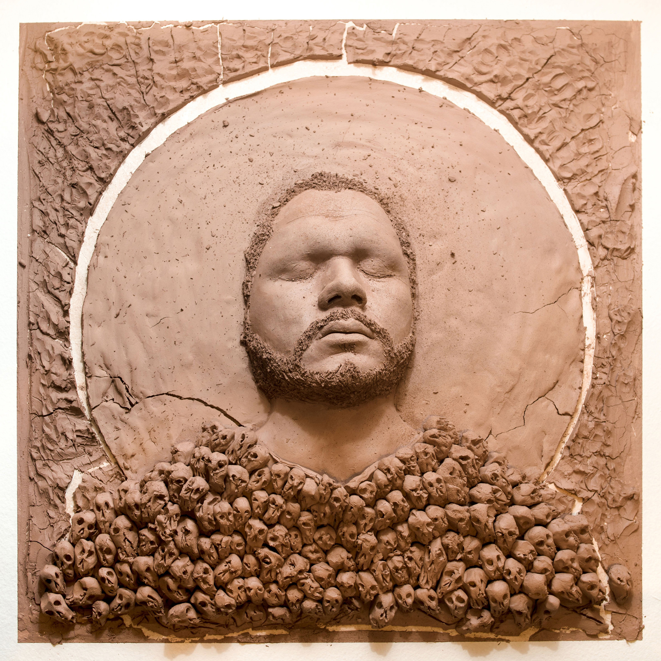 "Salvador Jiménez-Flores's ""Dust to Dust,"" from ""I Am Not Who You Think I Am"" at Urbano Project through June 10."