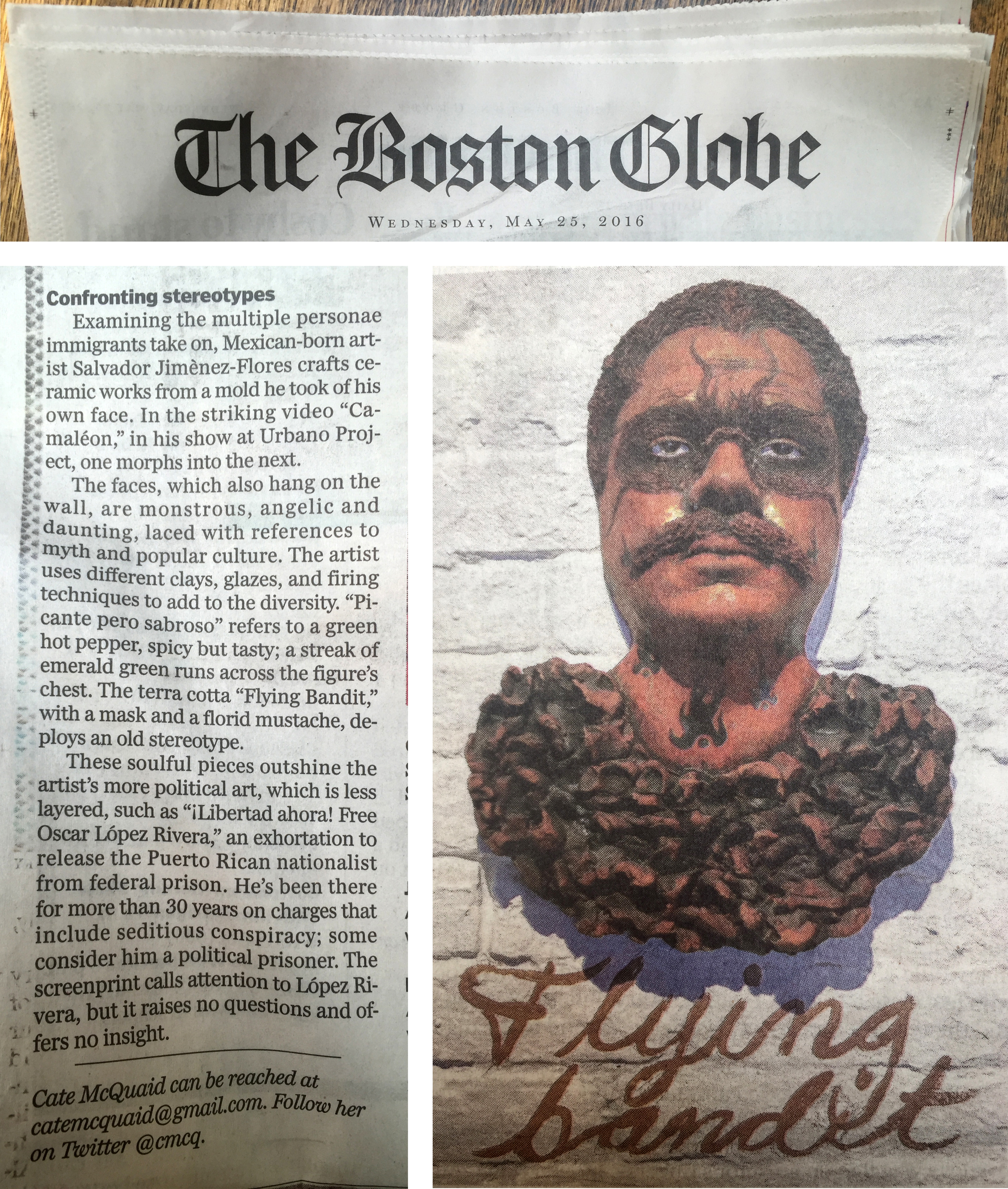 Little write up at the Boston Globe
