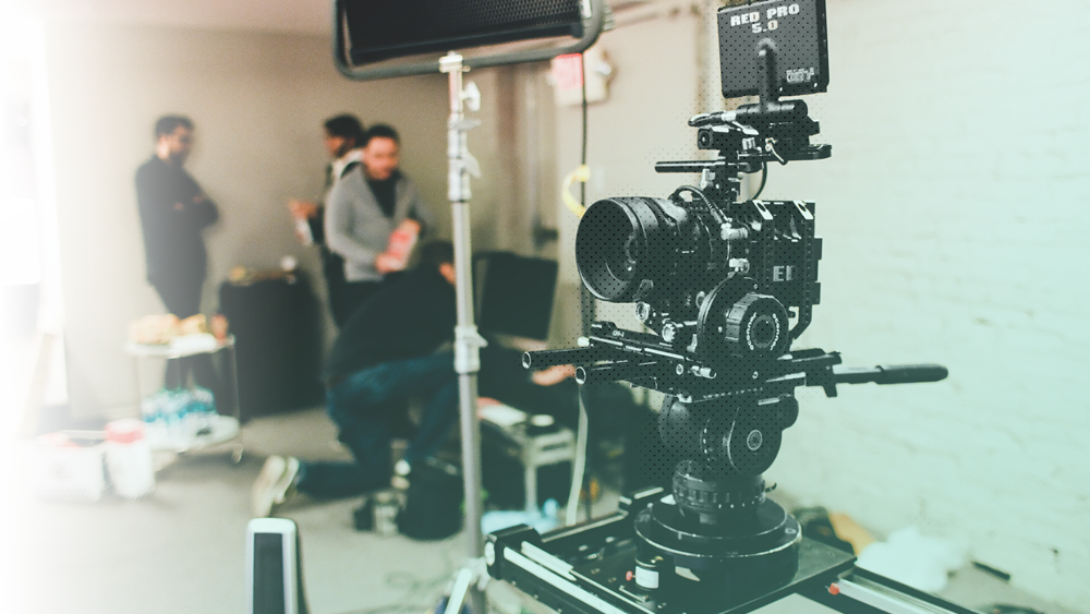 Production - With all the pieces in place, it's time to bring the vision to the screen. We craft and film. Working within the production days, we use our crew and cameras to breathe life into your vision.