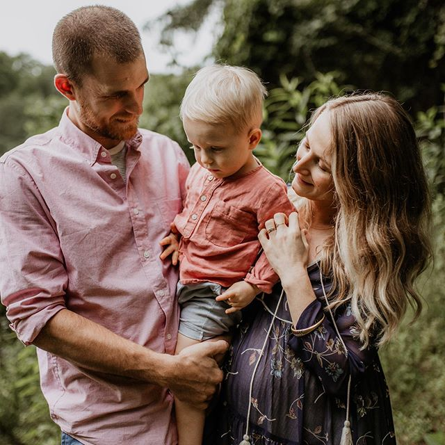 I'm sharing some maternity/family photos that we had taken in early June. I was a little over seven months pregnant at the time. We welcomed Miles to the family on 8/4. Photos by the talented @rachelpourchier